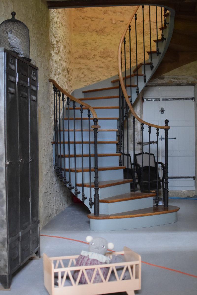Escaliers Gers ©Menuiserie Mazères - Gers et Lot et Garonne